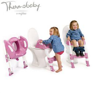 Thermobaby Kiddyloo Toilettrainer met trapje UITVERKOOP