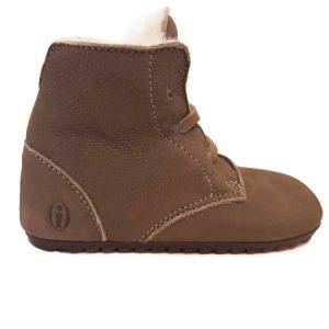 Beige ShoesMe Babyproof Veterschoenen Flexzool