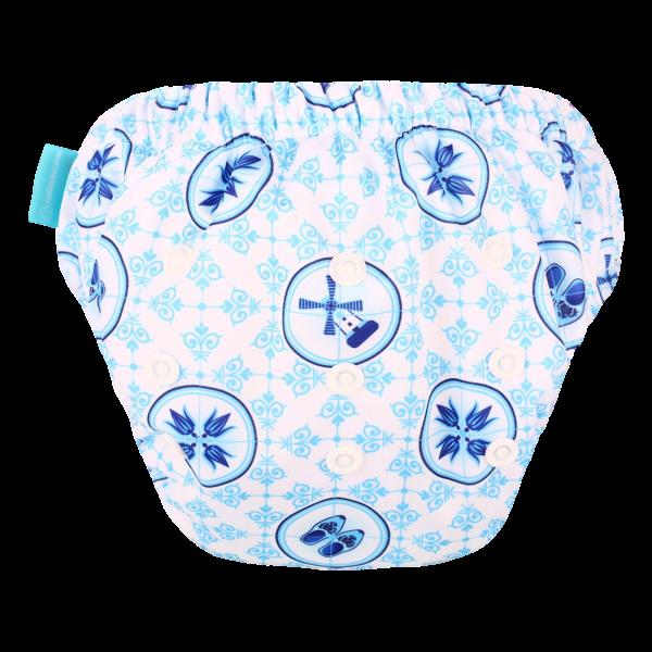 HappyBear oefenbroekje - Delfts Blauw