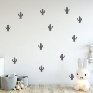 Muursticker Cactus
