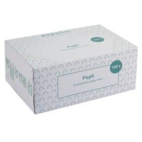 Inlegvellen voor wasbare luiers Popli in doos