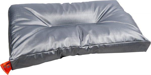 KidZ ImpulZ Aankleedkussen XXL - Extra lang: 90*50 cm- Gun metallic (mat)