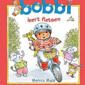 Kluitman Bobbi leert fietsen