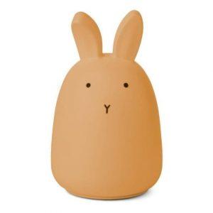 Liewood draadloos nachtlampje Winston | Rabbit Yellow Mellow