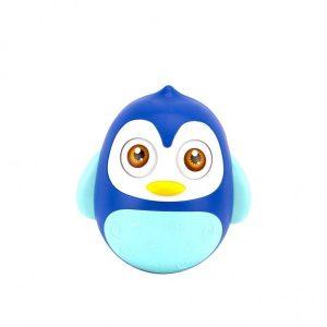 Tuimelaar Happy World Pinguïn Blauw