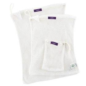 Wasnet set van 3 voor wasbare luiers, kleding of maandverband