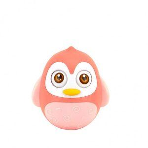 Tuimelaar Happy World Pinguïn Roze