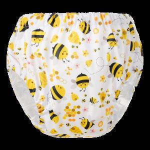 HappyBear oefenbroekje - Bijen