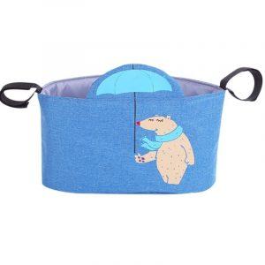 Wandelwagen tas opbergtas grote ruimte baby wandelwagen haak opbergtas stijl: paraplu Bear
