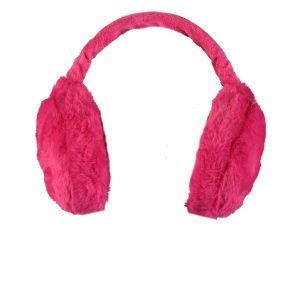 B.Nosy Meisjes oorwarmers - Oorwarmers - Beetroot pink