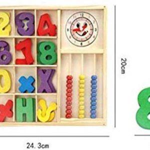 Akyol® Houten Kinder speelgoed   Educatief   Speelgoed   Cijfers   Hout   Kinder   kleuren
