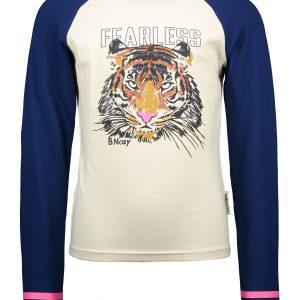 B.Nosy Meisjes shirt - Raglan met grote print op de borst - Cotton