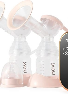 BYER Nevi Comfort - Luxe Dubbele Elektrische Borstkolf - 100% BPA Vrij
