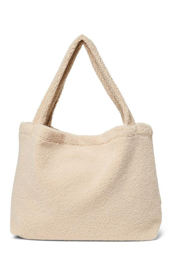 Studio Noos Ecru Teddy Mom Bag